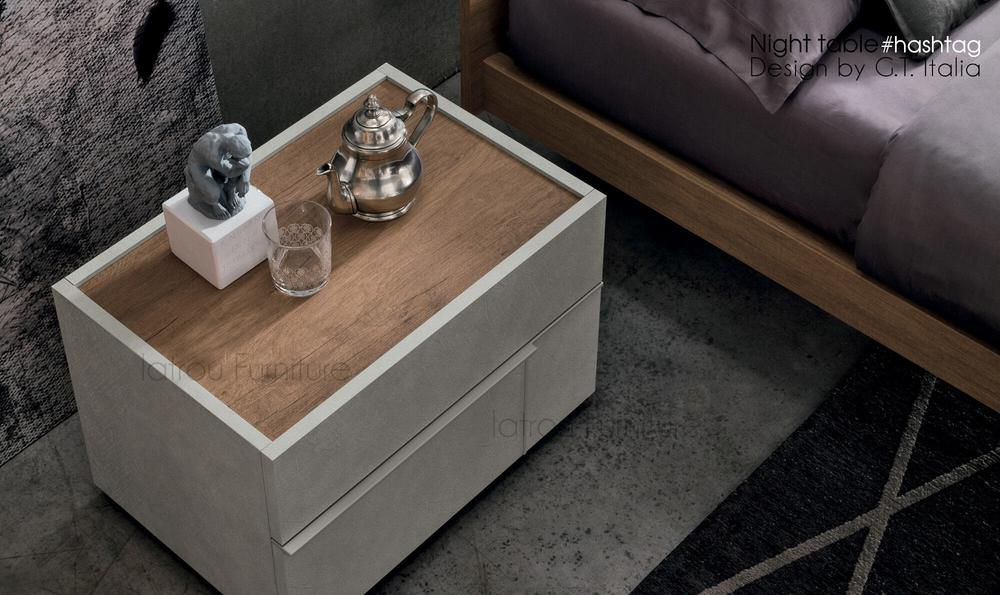 Hashtag nightstand designed by gruppo tomasella for Gruppo tommaselli